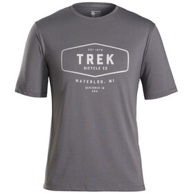 Bontrager Evoke Mountain Tech T-Shirt Herr grå